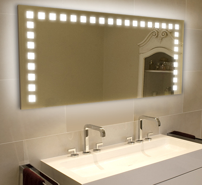Lighted Bathroom Mirrors on Light Mirrors   Illuminated Bathroom Mirrors