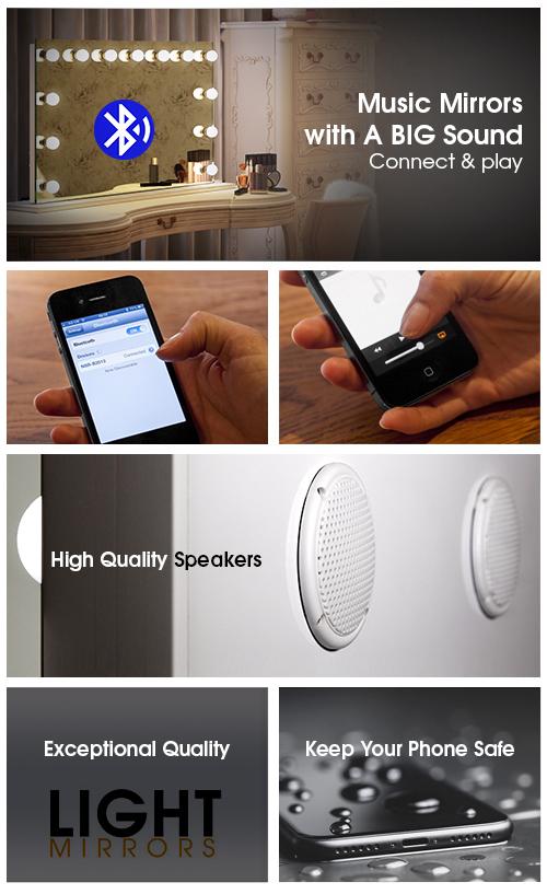Halo Wide Led Light Bathroom Mirror H 500 X W 700mm