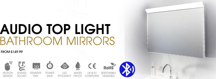 Audio Top Light Mirror