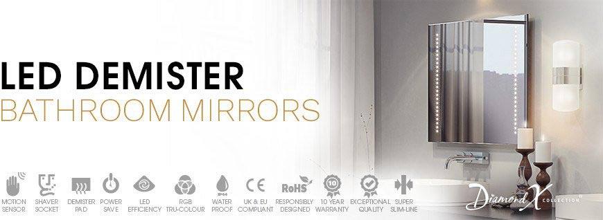 LED Demister Bathroom Mirrors