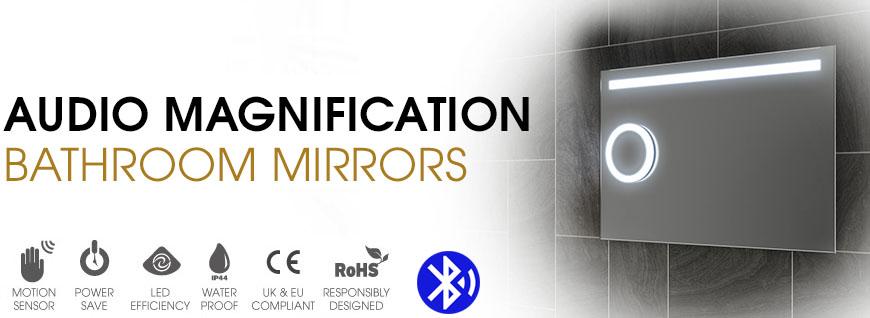 Audio Magnification Mirrors