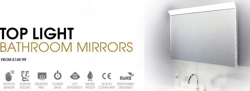 Standard Top Light Mirror