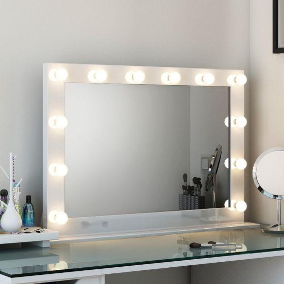 Anastasia Audio White High Gloss Mirror (Grand)