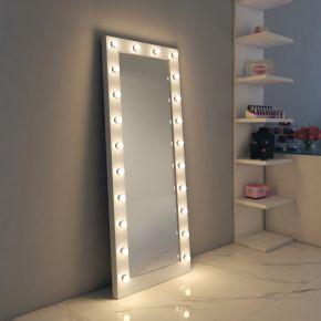 Anastasia White Gloss Mirror (Tall)
