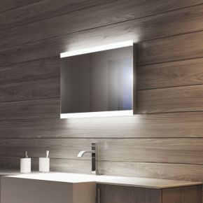 Audio Lucent Wide LED Light Bathroom Mirror