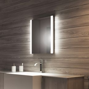 Audio Lucent Tall LED Light Bathroom Mirror
