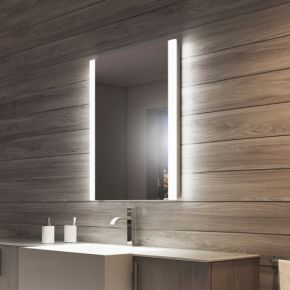 Audio Lucent Tall LED Light Bathroom Mirror