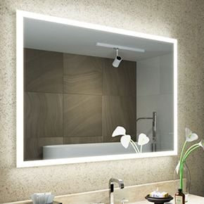 Halo Tall LED Light Bathroom Mirror 1418