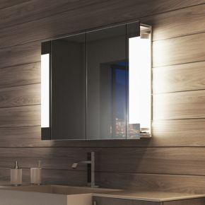 Lucent Two Door LED Bathroom Demister Cabinet