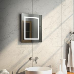Audio Aurora Tall LED Light Bathroom Mirror
