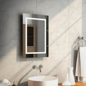 Aurora Tall LED Light Bathroom Mirror 160