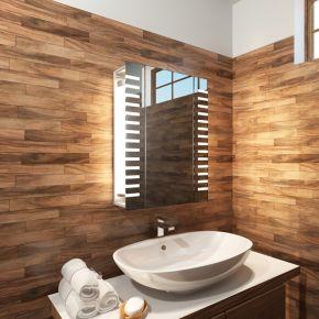 Platinum LED Bathroom Demister Cabinet
