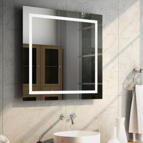 Audio Aurora LED Light Bathroom Mirror