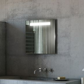 Argent LED Bathroom Mirror