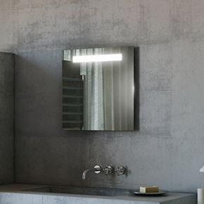 Audio Argent LED Bathroom Mirror