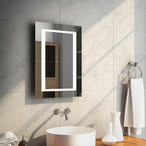 Aurora Tall Super Bright LED Bathroom Mirror 47