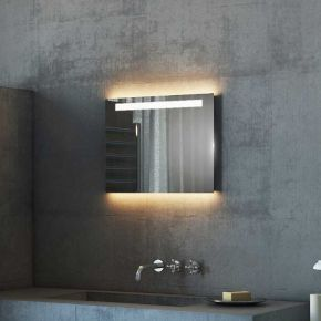 Argent Wide LED Light Bathroom Mirror 501