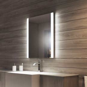 Audio Lucent Tall Light Bathroom Mirror