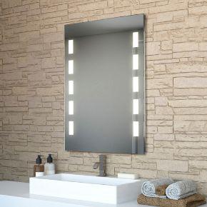 Audio Cube Tall LED Light Bathroom Mirror