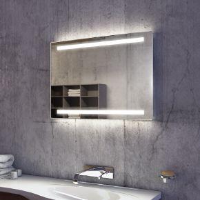 Audio Lumin Wide Light Bathroom Mirror