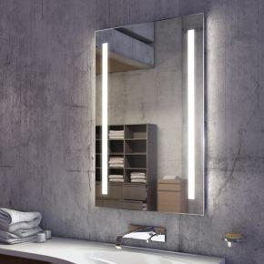 Audio Lumin Tall LED Light Bathroom Mirror