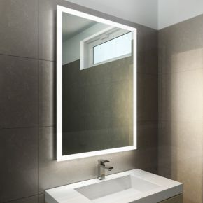 Halo Wide LED Light Bathroom Mirror 842v