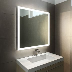 Halo LED Light Bathroom Mirror 843