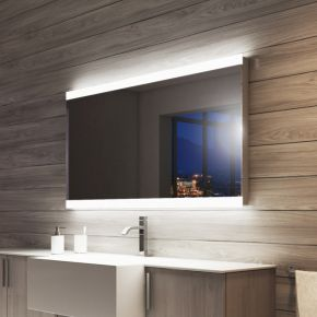 Lucent Wide LED Light Bathroom Mirror