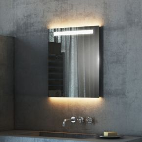 Audio Argent Tall Light Bathroom Mirror