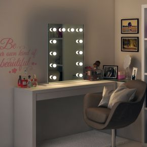 RGB Alexandria Audio Hollywood Mirror