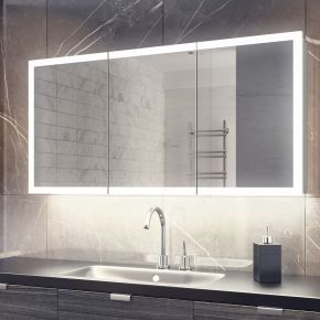 Halo White Ambient Demister Cabinet