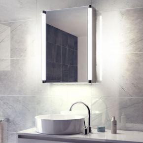 Saber White Ambient Demister Cabinet (Bluetooth Audio)