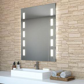 Cube Tall LED Light Bathroom Mirror