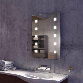 Cube Tall Super Bright LED Bathroom Mirror (Slim)