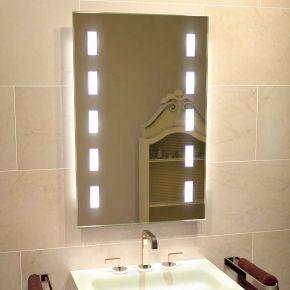 Cube Tall Light Bathroom Mirror 1216