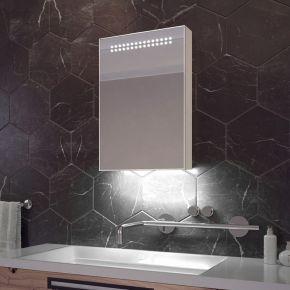 Jewel White Ambient Sensor Cabinet