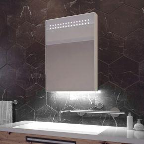 Vania White Ambient Sensor Cabinet (Bluetooth Audio)