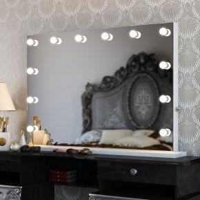 Anastasia White Edge Mirror (Grand)