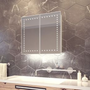 Panos White Ambient Demister Cabinet