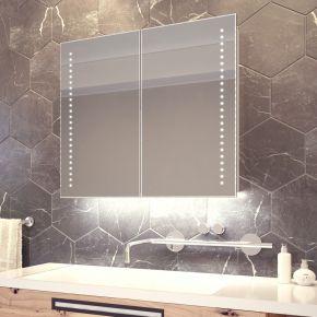 Vasos White Ambient Demister Cabinet (Bluetooth Audio)