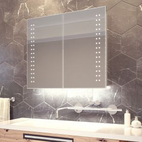 Yalena White Ambient Demister Cabinet (Bluetooth Audio)