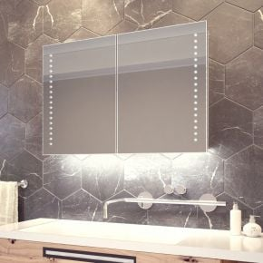 Fedor White Ambient Demister Cabinet (Bluetooth Audio)