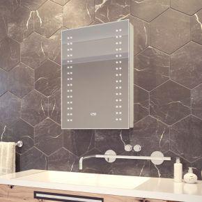 Halina LED Demister Cabinet with Clock