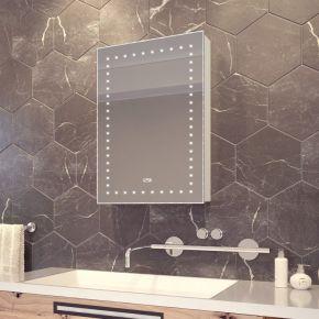 Elora LED Sensor Cabinet with Clock
