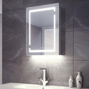 Aurora White Ambient Demister Clock Cabinet