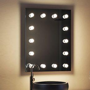 Henrietta Audio Bathroom Hollywood Mirror