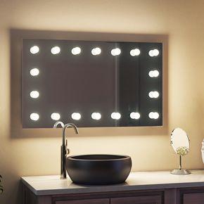 Letizia Audio Bathroom Hollywood Mirror