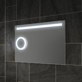 Lustre Magnification Bathroom Mirror