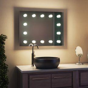 Marcela Audio Bathroom Hollywood Mirror