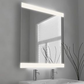 Lucent Wide Light Bathroom Mirror